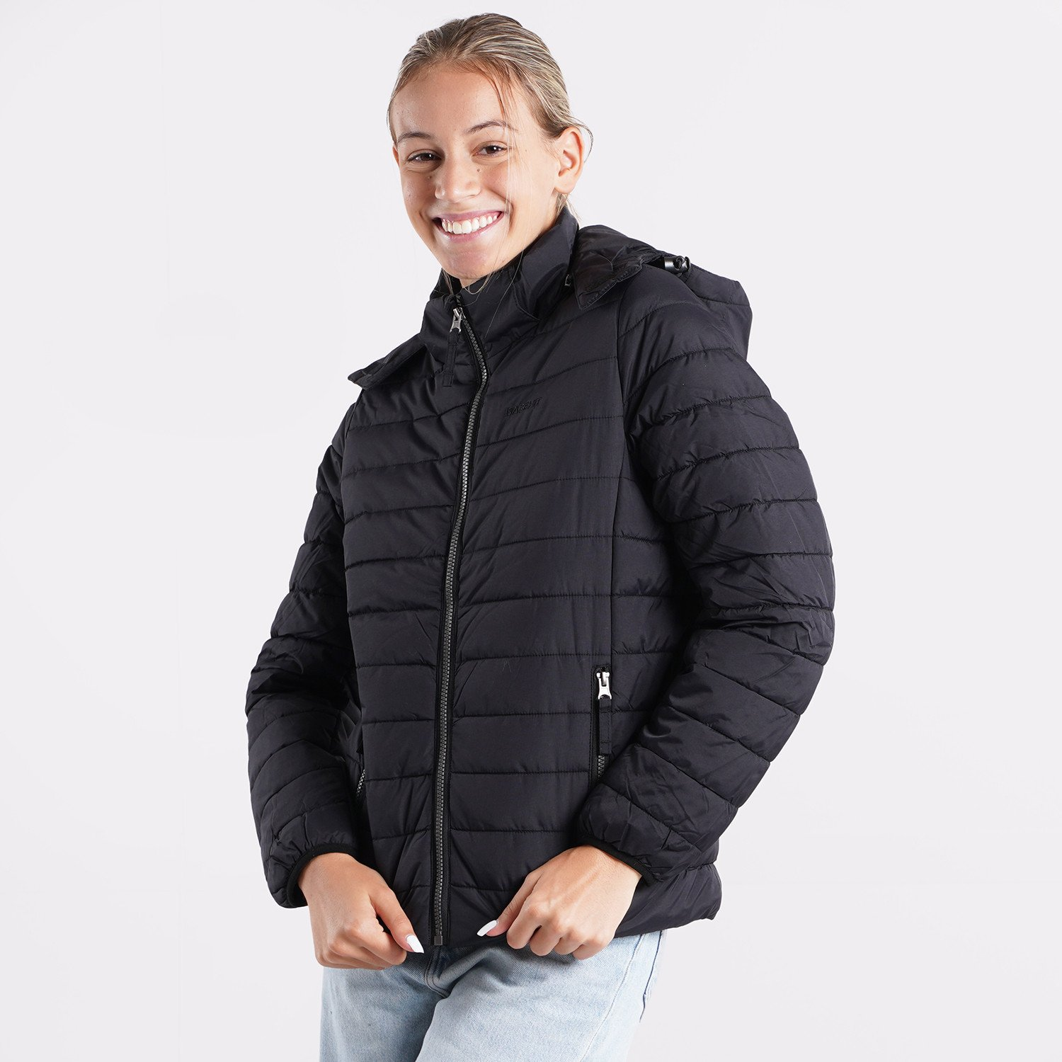 Basehit Women's P.P. Down Jacket with Hood (9000090470_40973)