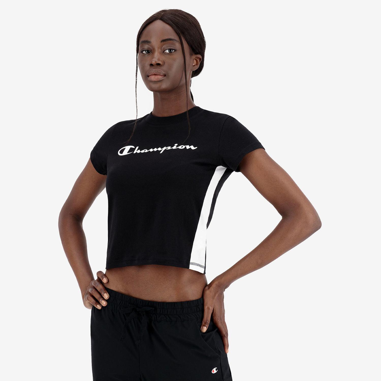 Champion Crewneck Γυναικείο Cropped T-Shirt (9000082544_3315)