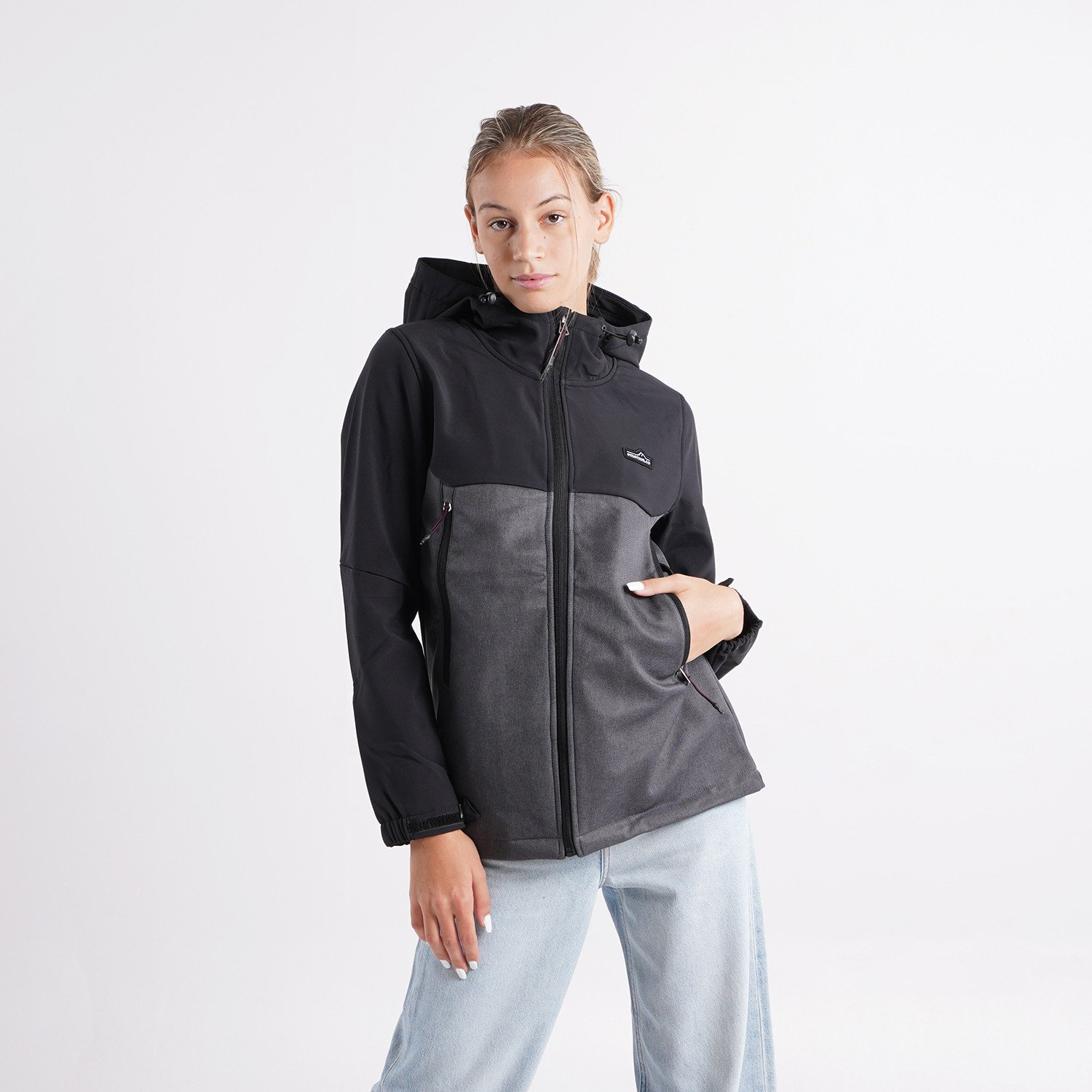 Emerson Women's Soft Shell Jacket with Hood (9000054068_35261)