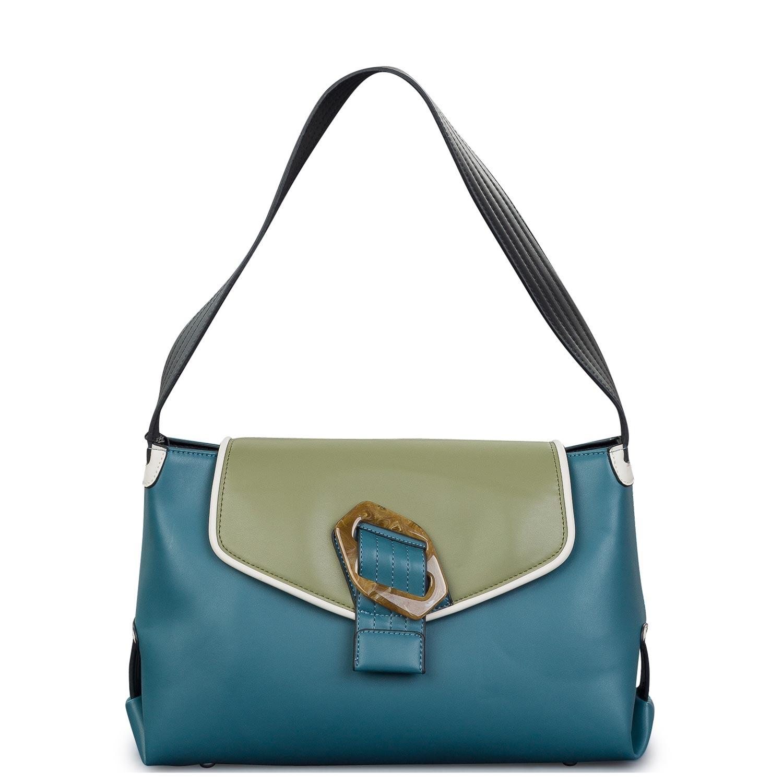 Shopping γυναικεία Hvisk Μαύρο-Πράσινο Billow Soft