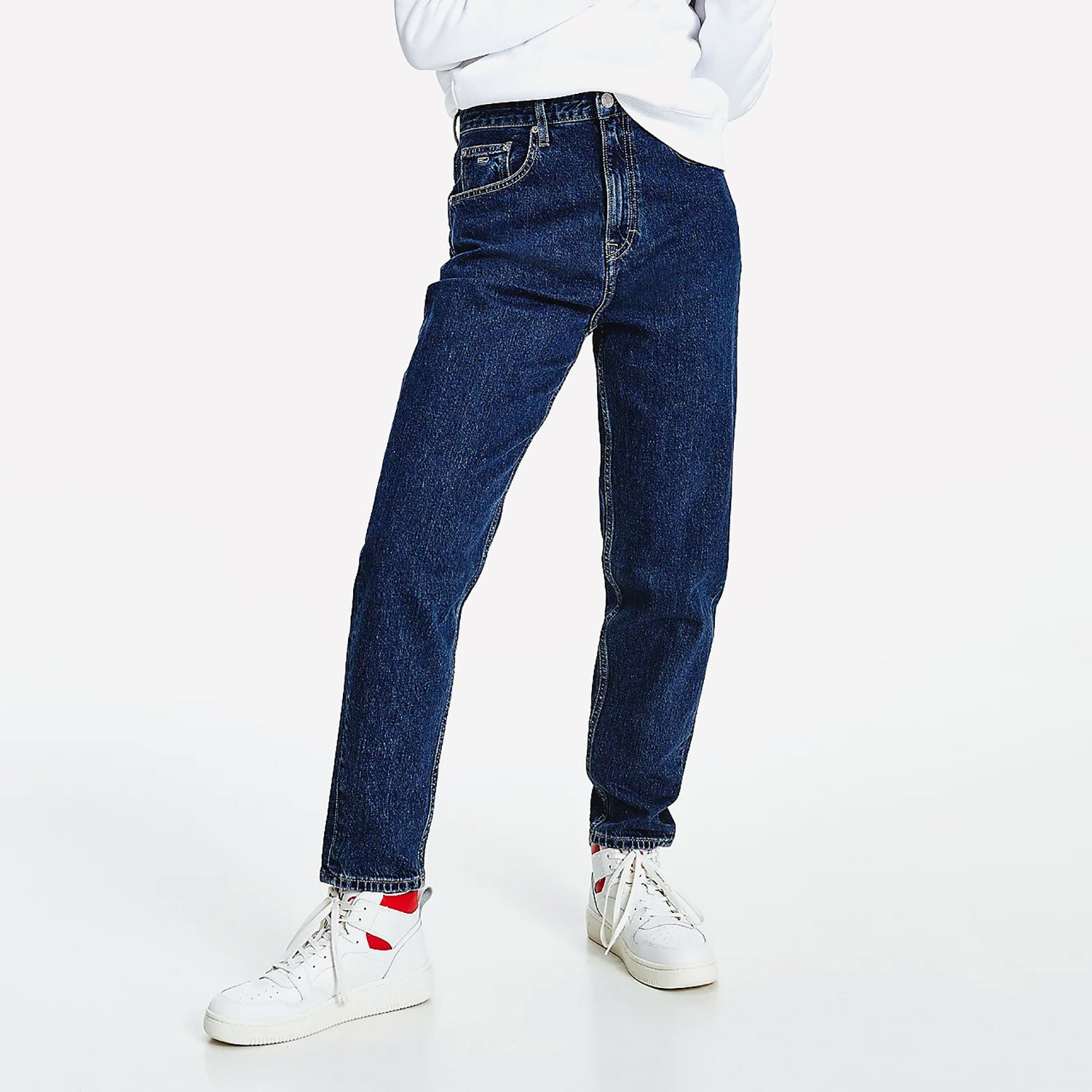 Tommy Jeans Mom Jean Uhr Tprd Be551 Dbrg (9000090057_55727)