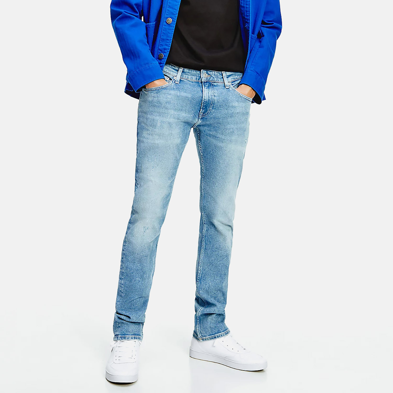 Tommy Jeans Scanton Slim Distressed Ανδρικό Παντελόνι (Μήκος 32L) (9000074771_51880)