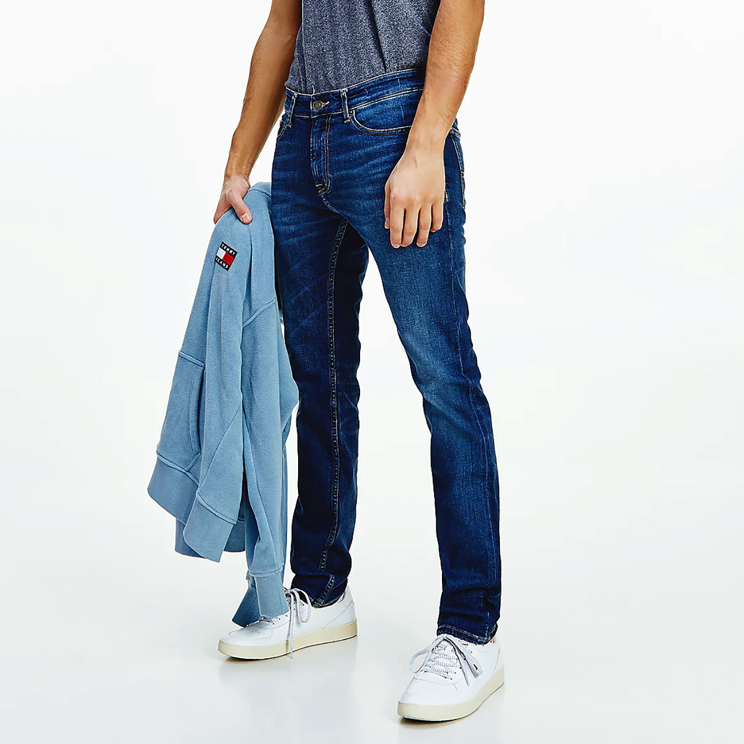 Tommy Jeans Scanton Slim Fit Faded Ανδρικό Τζιν Παντελόνι (Μήκος 32L) (9000089966_55726)