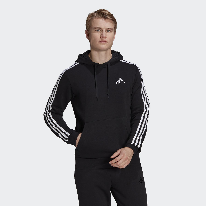 adidas Performance Essentials Fleece 3-Stripes Ανδρική Φούτερ (9000089806_1480)