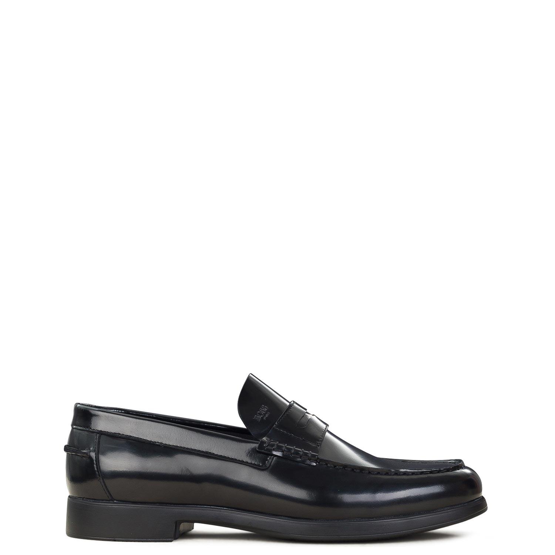 Μοκασίνια ανδρικά Boss Shoes Μαύρο R6487