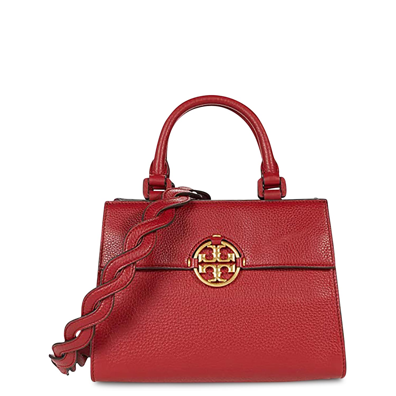Shopping γυναικεία Tory Burch Κόκκινο MILLER TOP HANDLE SATCHEL