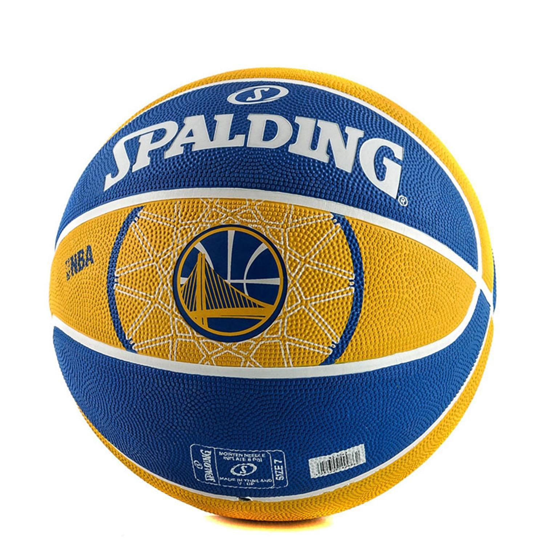 Spalding Nba Team Rubber Basketball-Warriors (3024500118_429)