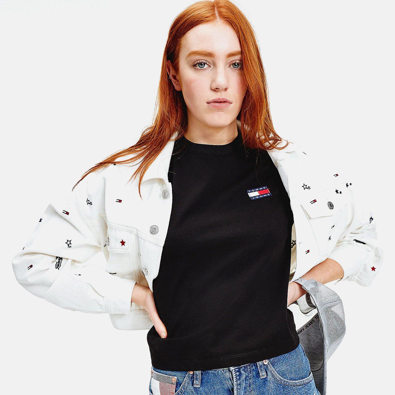 Tommy Jeans Badge Γυναικεία Μπλούζα (9000063102_1469)