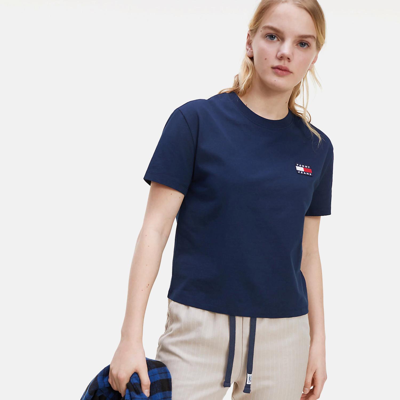 Tommy Jeans Badge Γυναικείο T-Shirt (9000063103_45076)