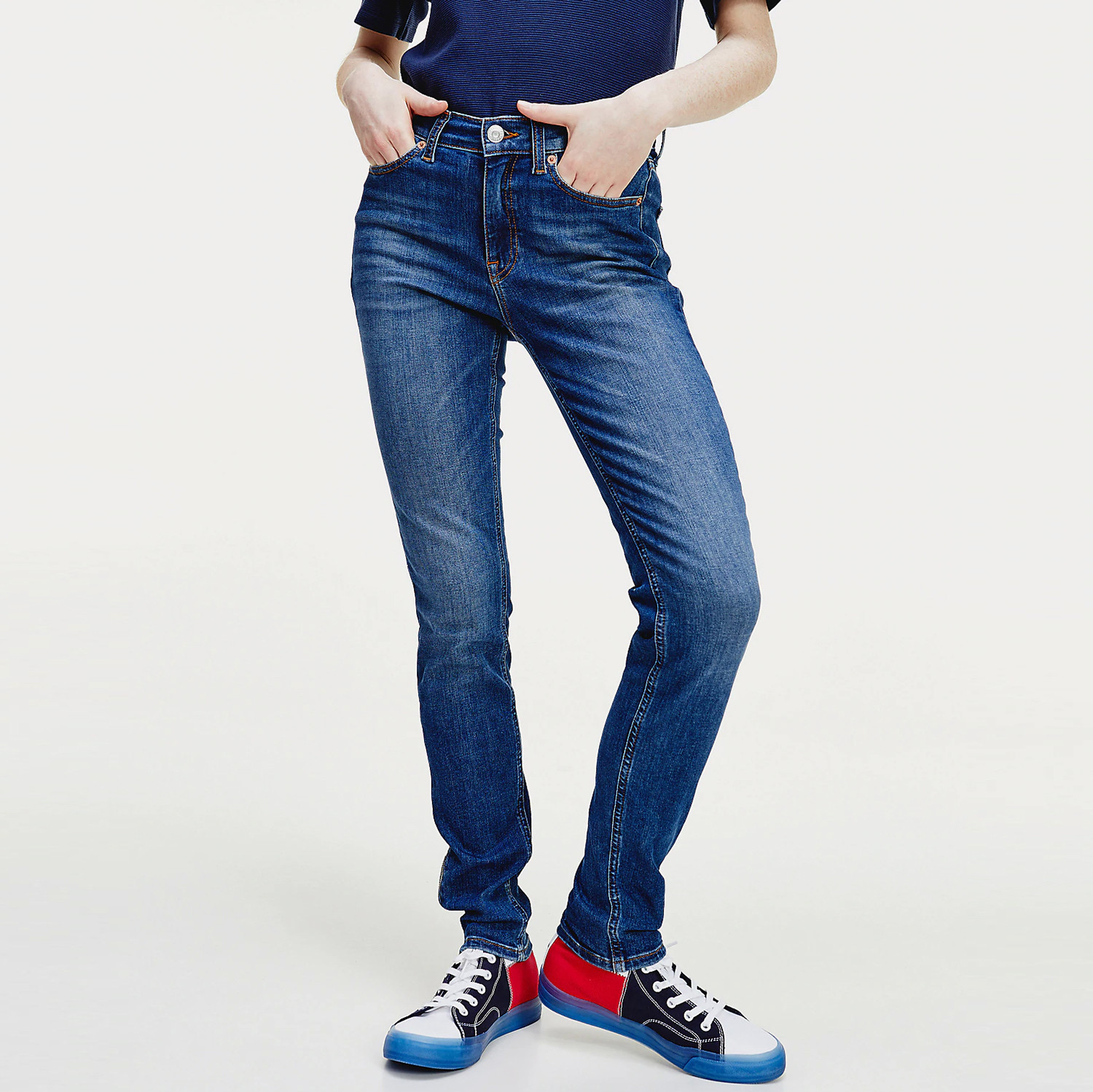 Tommy Jeans Nora Mr Skinny Ankle Zip Ady (9000051015_45097)